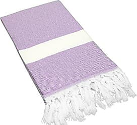 Linum Home Textiles Turkish Cotton Diamond Pestemal, Peshtemal, Fota Beach Bath Towel