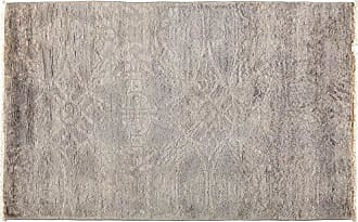 Solo Rugs Vibrance Hand Knotted Area Rug, 3 1 x 5 1, Gray