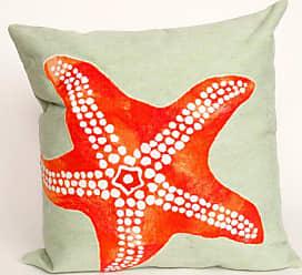 Liora Manne Star Fish Indoor / Outdoor Throw Pillow - 7SB1S414116