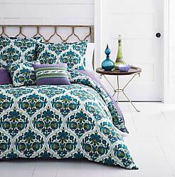 Azalea Skye Luna Duvet Cover Set - Blue - Size:King