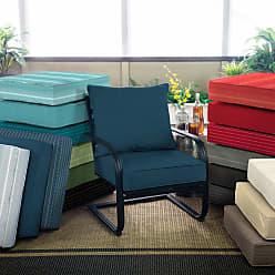 Belham Living Acrylic Deep Seating Cushion Set Graphite Gradated Stripe - AH1F098B-D9H1