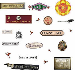 RoomMates Harry Potter Signs Peel And Stick Wall Decals - RMK3778SCS