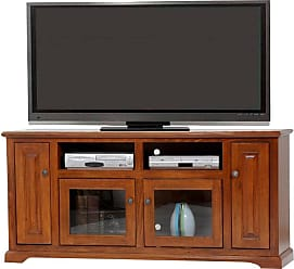 American Heartland 67.5 in. Deluxe Poplar Entertainment Console - Assorted Finishes - 65866EAMQS