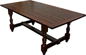 Best Master Furniture H01 Hoover Walnut Dining Table Only Only
