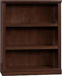 Sauder Sauder 412808 3 Shelf Bookcase, L: 35.28 x W: 13.23 x H: 43.78, Select Cherry finish