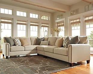 Ashley Furniture Kieman 3-Piece Sectional, Sandstone