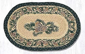 Earth Rugs MSPS-025A-4 Set of Trivets Brown