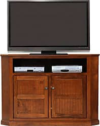 American Heartland 57 in. Poplar Corner TV Stand - Assorted Finishes - 75743EAM