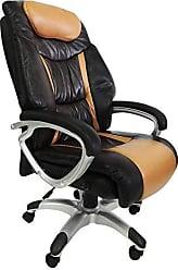 Pelegrin Poltrona Presidente Cadeira Marrom Cl9-012 Pelegrin