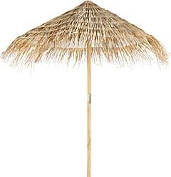 6c96bce7fe3326 Maisons du monde Parasol en sapin et fibre végétale tressée