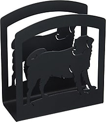 Village Wrought Iron 6 Inch Dog Napkin Holder