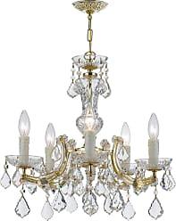 Crystorama Maria Theresa 5-Light Hand Cut Crystal Chandelier
