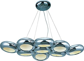 ET2 E22599 Donuts Collection 44 Wide LED Chandelier Polished Chrome