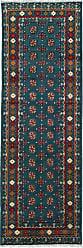 Nain Trading Oriental Rug Afghan Akhche Baghlan 711x28 Runner Dark Brown/Dark Blue (Wool, Afghanistan, Hand-Knotted)