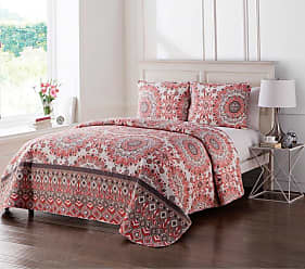 VCNY Phoebe Reversible Quilt Set by VCNY, Size: Twin - PHO-2QT-TWXT-IN-OI