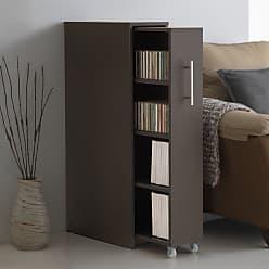 Baxton Studio Lindo Bookcase - SH-001-ESPRESSO