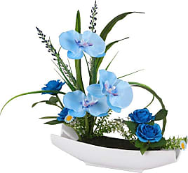 National Tree Company Blue Orchid Flowers - NF36-5117S-1