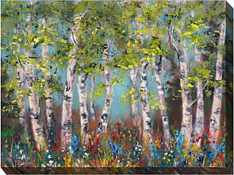 West of the Wind Wildflower Grove Wall Art - 40W x 30H in. - OU-71149