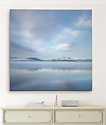 WEXFORD HOME Mirrored Sunrise Gallery Wrapped Canvas Wall Art, 16x16