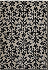 Couristan Couristan 6316/6333 Everest Retro Damask/Grey-Black 2-Feet by 3-Feet 7-Inch Rug