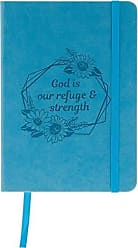 AngelStar Notebook - God is Our Refuge & Strength, Multicolored