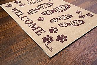 Doortex Schmutzfangmatte schwarz aus 100 /% Nitrilgummi 75 x 85 cm rechteckig Mehrzweckmatte scrapemat