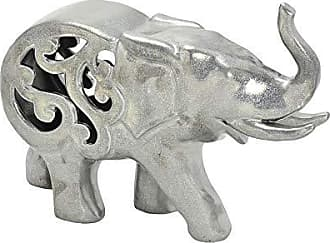 Espressione Elefante de Cerâmica com Detalhe 20cm Espressione