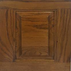 American Heartland 45-in. 3-Door Oak TV Stand Classic Bourbon - 41847CB