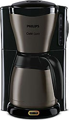 Cafetera Independiente, Cafetera de filtro, 1,2 L, De caf/é molido, 1000 W, Negro, Acero inoxidable Philips Daily Collection HD7459//23