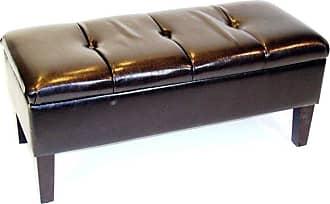 4D Concepts Indoor Storage Bench - Brown - 443745