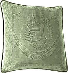 Ellery Homestyles Historic Charleston 13995020X020SAG King Charles Matelasse 20-Inch by 20-Inch Decorative Pillow, Sage