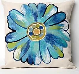 Liora Manne Daisy Indoor / Outdoor Throw Pillow Orange - 7SC1S314917