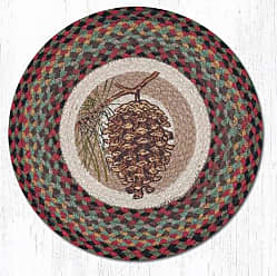 Earth Rugs RPS-081P-4 Set of Placemats, Brown