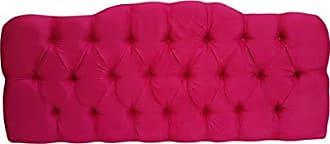 Kasabela Cabeceira Casal Box Estofada Paris Curva Kasabela Rosa Pink