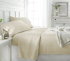 iEnjoy Home Bamboo 3 Piece Sheet Set, Twin, Ivory