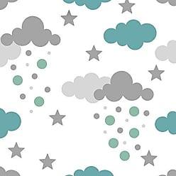 Lar Adesivos Papel De Parede Bebê Infantil Nuvem Chuva Nuvens Teen N4317