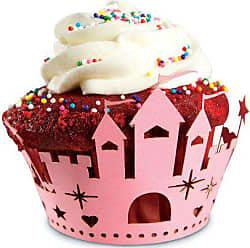 Fox Run Craftsmen Fox Run Brands 7147 Fairy Princess Cupcake Wrappers, One Size, Pink