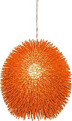 Varaluz Recycled Urchin Pendant - One Light Electric Pumpkin