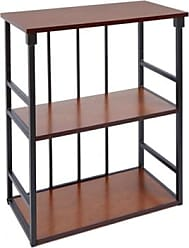 Ashley Furniture Mixed Material 3-Tier Wall Shelf, Black