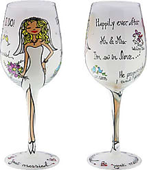 Gift Essentials 15 oz. Just Married Wine Glass - WGJUSTMARRIED