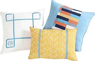 VCNY Clairebella Geometric 3 Piece Pillow Pack - GMR-3PK-ASST-I2-MU