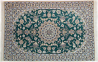 Solo Rugs Nain Hand Knotted Area Rug, 3 10 x 5 9, Ivory