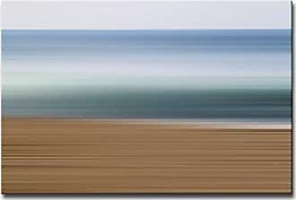 Ready2HangArt Ready2hangart Blur Stripes XXXVII Canvas Wall Art, 20 x 30