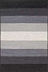 Loloi Rugs GARRGA-04BLIV7999 Garrett Area Rug, 7 9 x 9 9, Black/Ivory