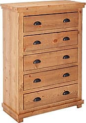 Progressive Furniture Willow Distressed Pine Chest, 38 by 18 by 52
