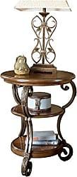 Ashley Furniture Signature Design - Nestor Chair Side End Table - Medium Brown