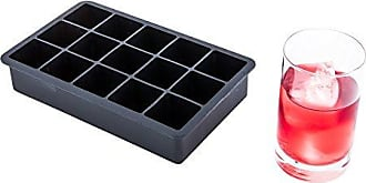 Restaurantware 1.25-inch Ice Cube Tray - Makes 15 Cubes: Perfect for Commercial Bars or Home Use - Constructed from Durable Black Silicone - Dishwasher Safe - 1-CT - Restaurantware