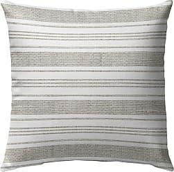 Kavka Designs Cummaquid Gray Stripe Outdoor Pillow - OPI-OP16-16X16-TEL8126