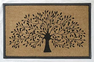 First Impression Tree Double Door Mat - A1HOME200001