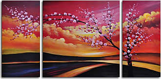 Omax Decor Painted Sky 3-Piece Canvas Wall Art - 48W x 24H in. - M 2026
